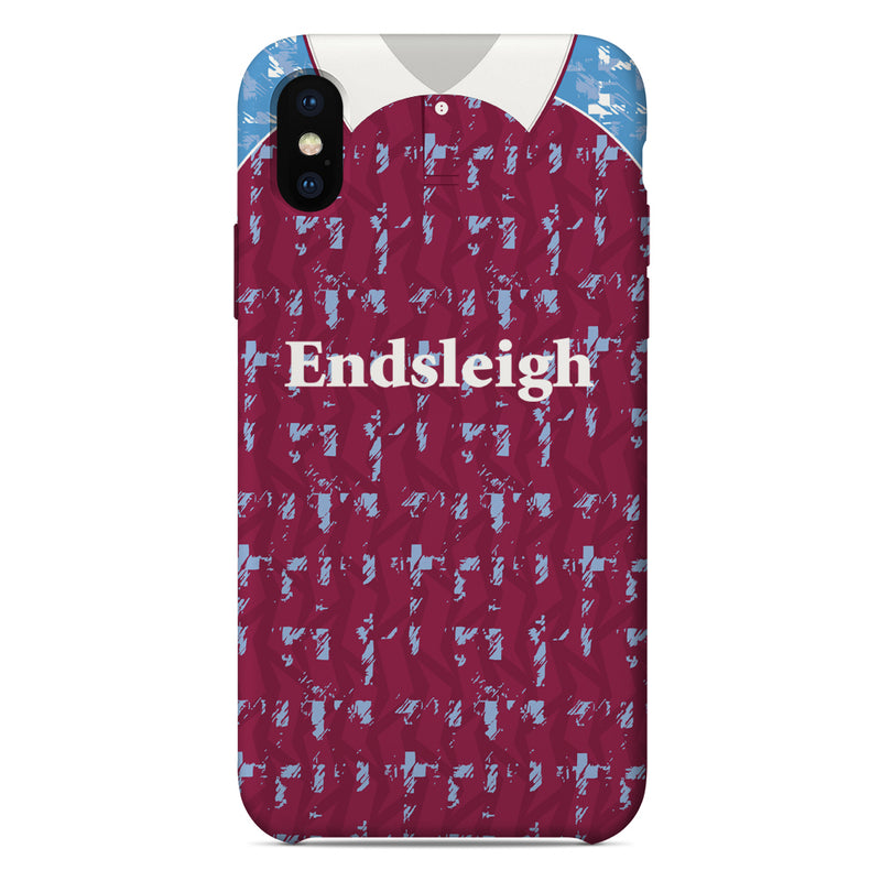 Burnley 1991-1993 Home Shirt Phone Case