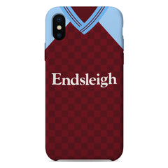 Burnley 1988/89 Home Shirt Phone Case