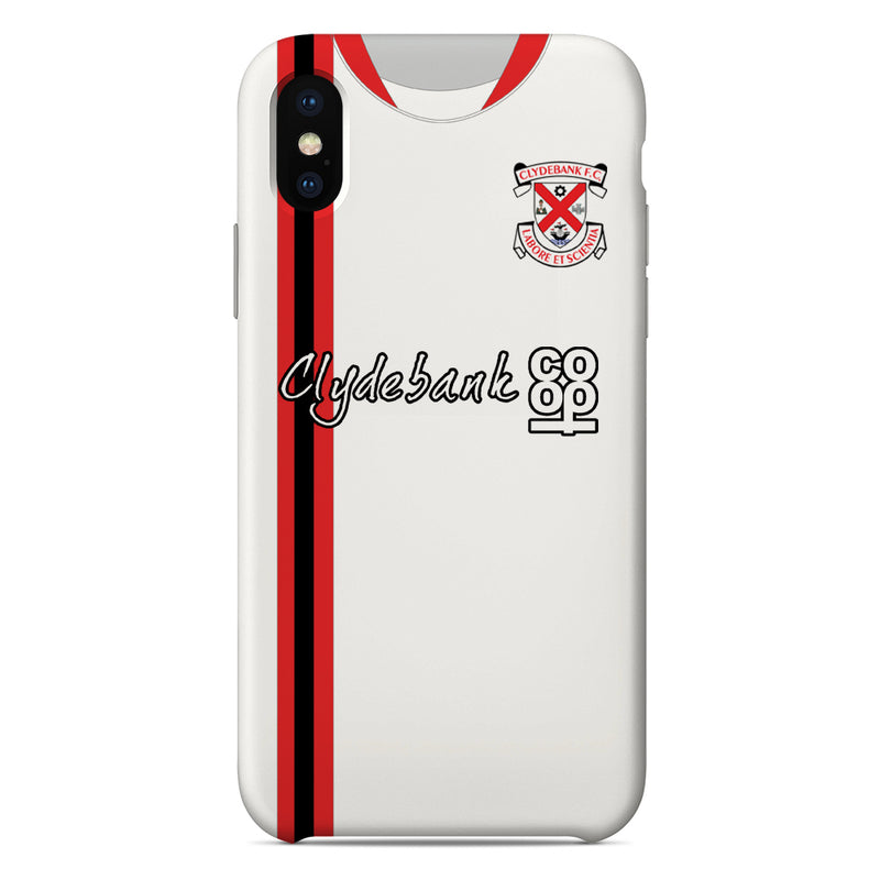 Clydebank F.C. 1995-1997 Home Shirt Phone Case