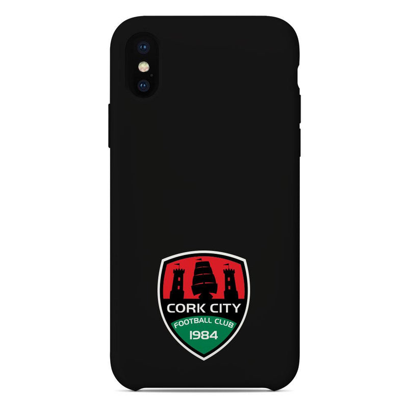 Cork City F.C. Crest Black Phone Case
