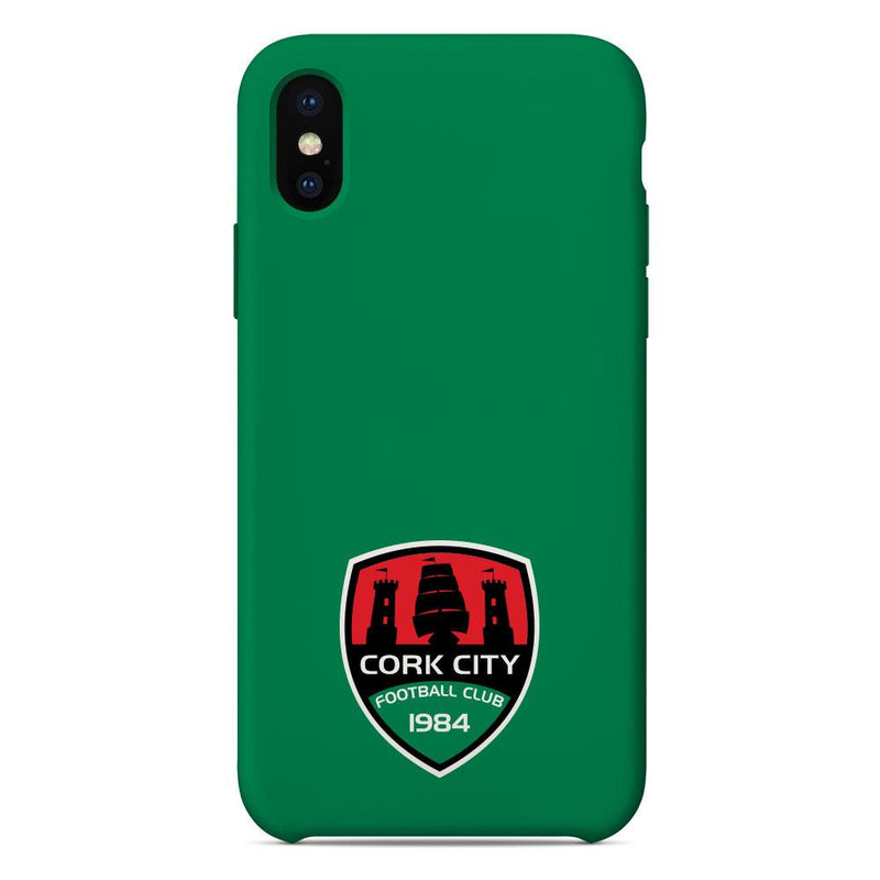 Cork City F.C. Crest Green Phone Case
