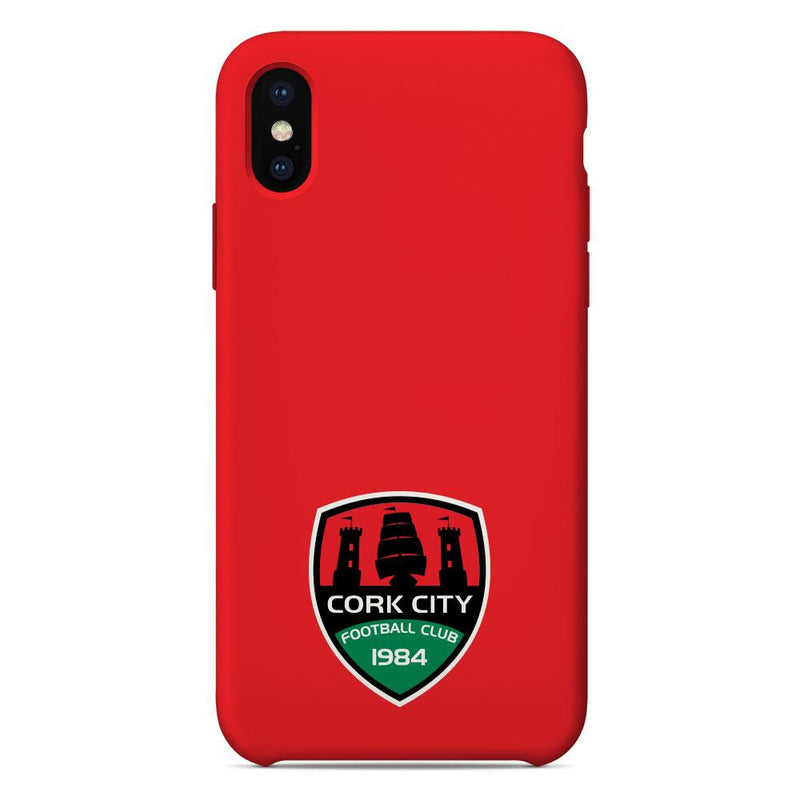 Cork City F.C. Crest Red Phone Case