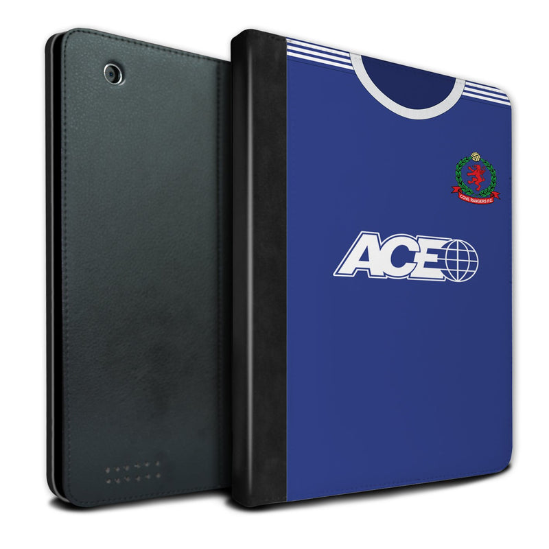 Cove Rangers F.C. 2019/20 Home Shirt iPad Case