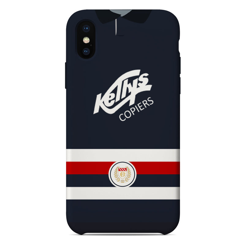 Dundee F.C. 1992-93 Home Shirt Phone Case