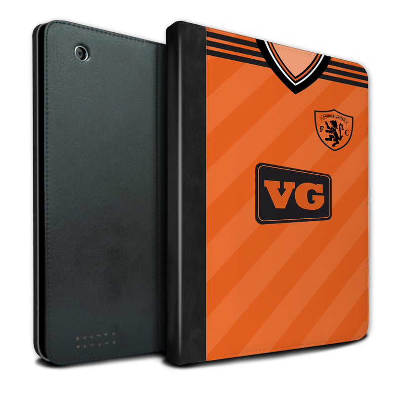 Dundee United F.C. 1984-1987 Home Shirt iPad Case