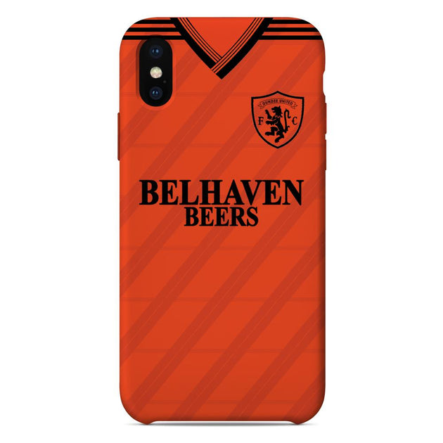 Dundee United F C  1987/88 Home Shirt Phone Case