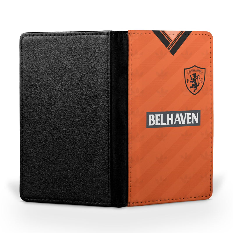 Dundee United F.C. 1988/89 Home Shirt Passport Case