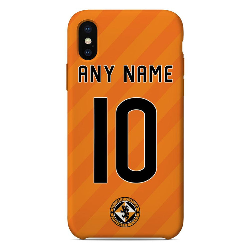 Dundee United F.C. 2019/20 Home Shirt Name & Number Personalised Phone Case