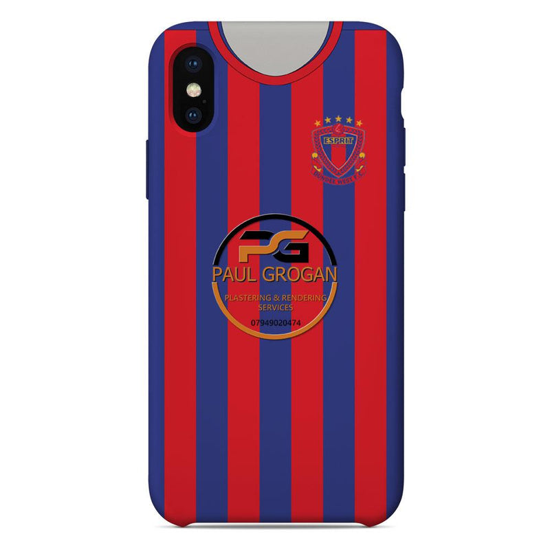 Dundee West F.C. 2020 Home Shirt Phone Case