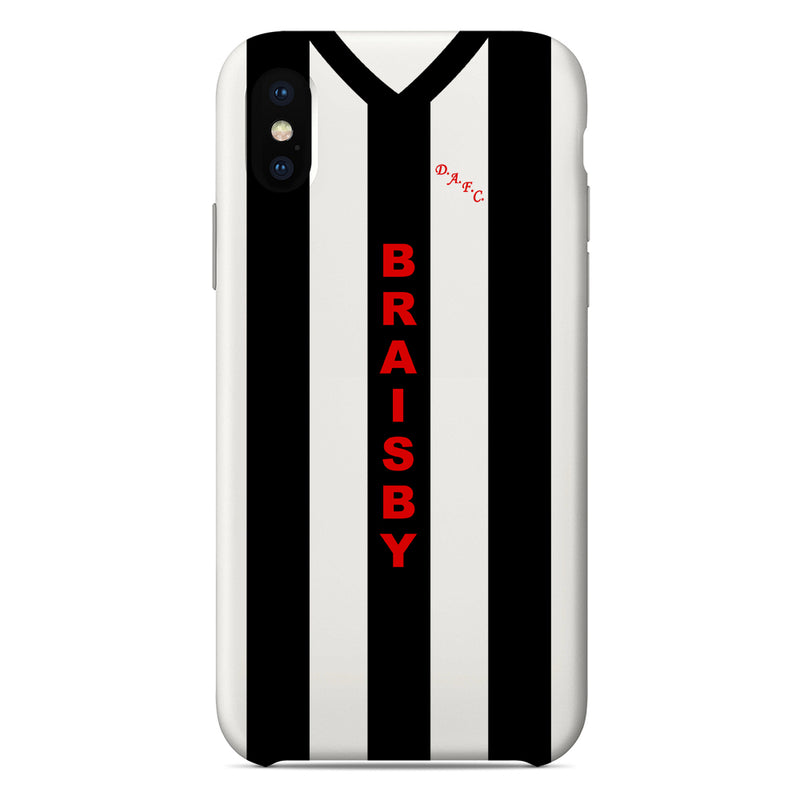 Dunfermline Athletic 1980-82 Home Shirt Phone Case