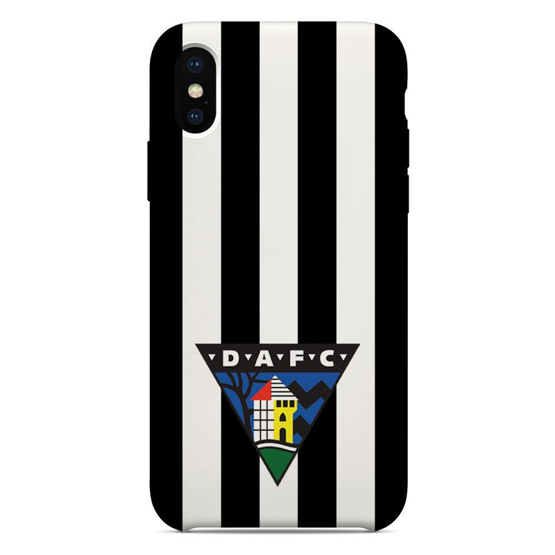 Dunfermline Athletic F.C. Crest Striped Phone Case