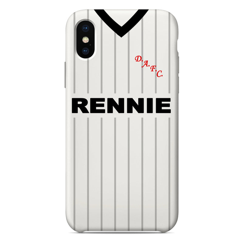 Dunfermline Athletic F.C. 1985/86 Home Shirt Phone Case