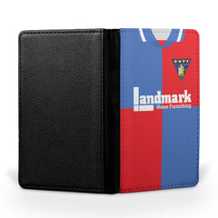 Dunfermline Athletic F.C. 1995-1997 Away Shirt Passport Case