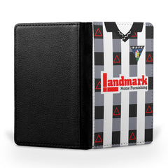 Dunfermline Athletic F.C. 1980-1982 Home Shirt Passport Case