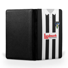 Dunfermline Athletic F.C. 1997-1999 Home Shirt Passport Case