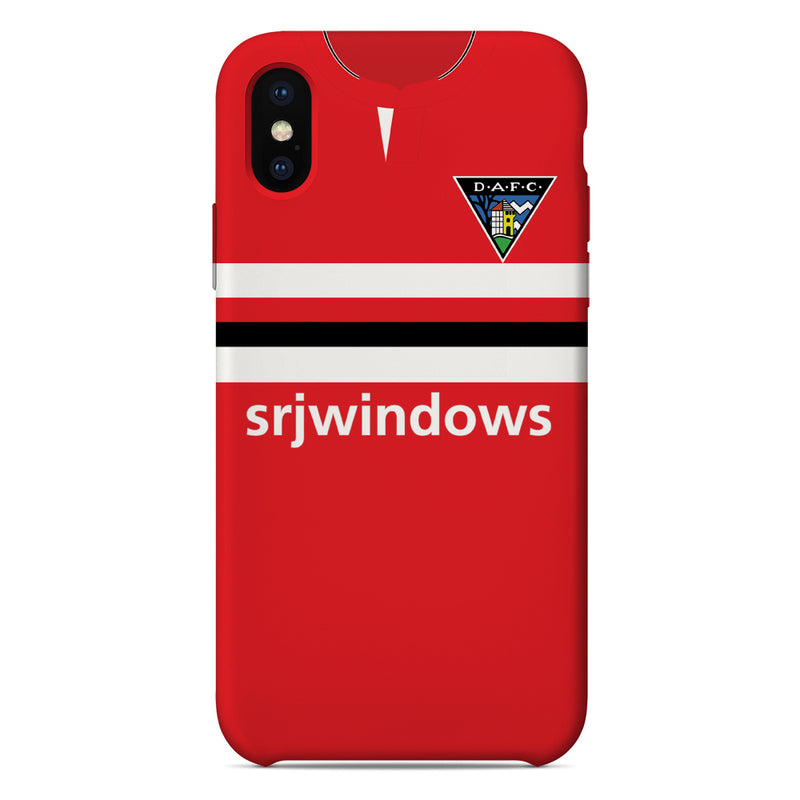 Dunfermline Athletic F.C. 2020/21 Home Shirt Phone Case