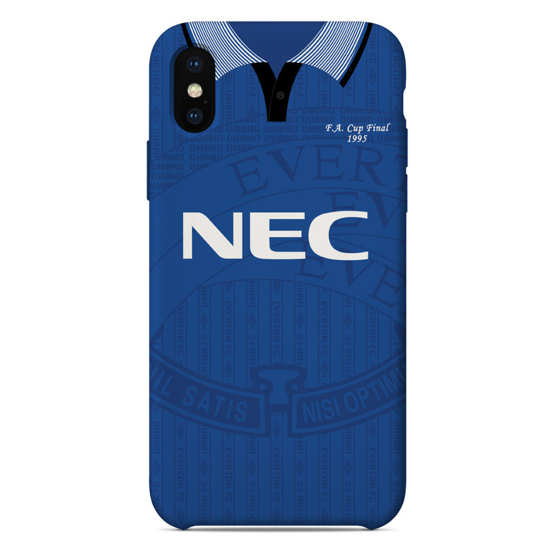 Everton 1995 FA Cup Final Shirt Phone Case