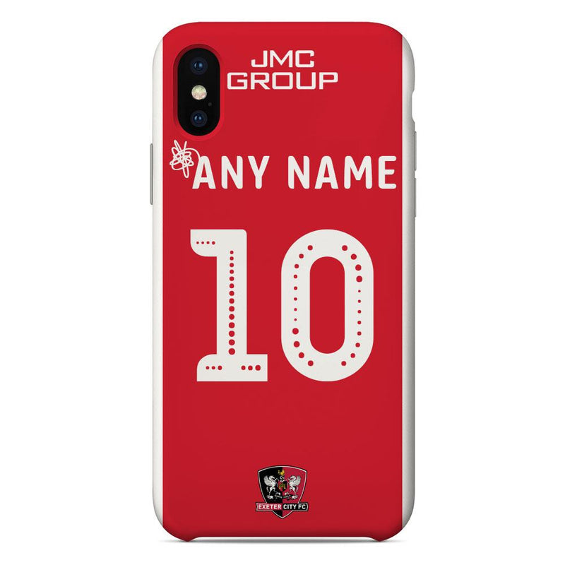 Exeter City F.C. 2019/20 Home Shirt Name & Number Personalised Phone Case