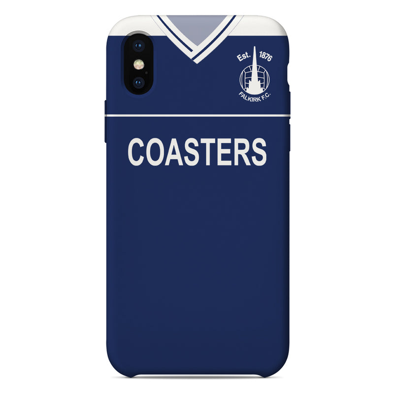 Falkirk F.C. 1987-89 Home Shirt Phone Case