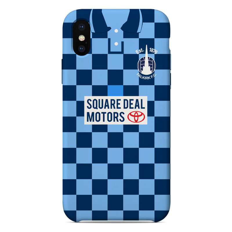 Falkirk F.C. 1996/97 Home Shirt Phone Case
