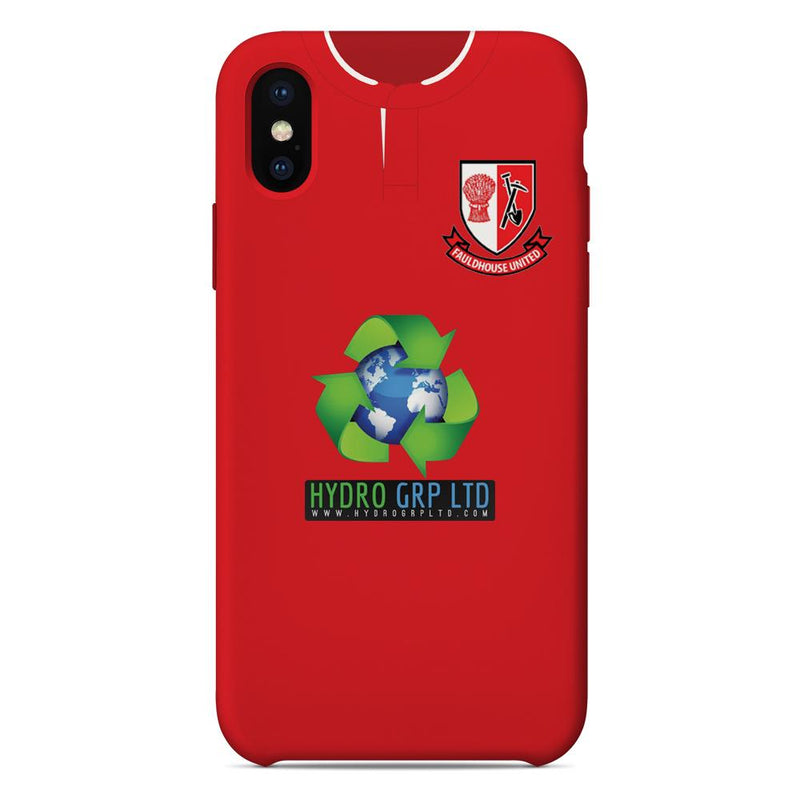 Fauldhouse United 2018/19 Home Shirt Phone Case