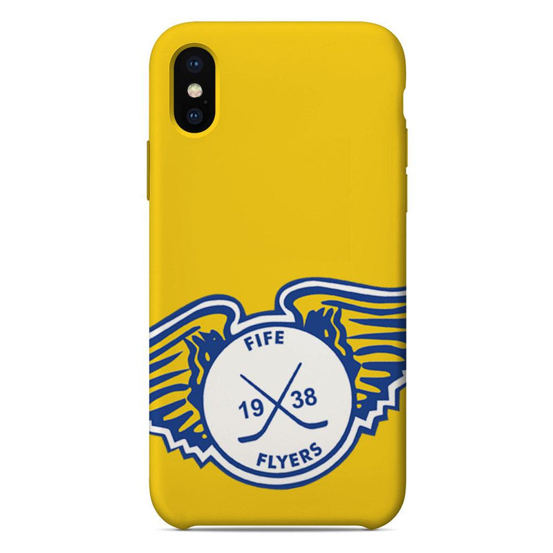 Fife Flyers Enlarged Logo Yellow Phone Case