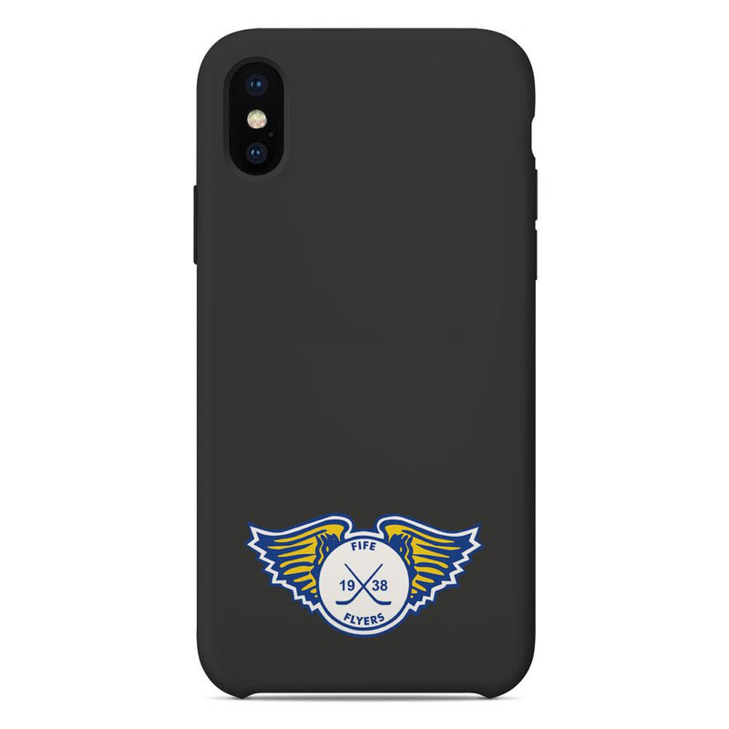 Fife Flyers Logo Grey Phone Case
