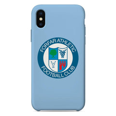 Forfar Athletic F.C. Crest Sky Blue Phone Case