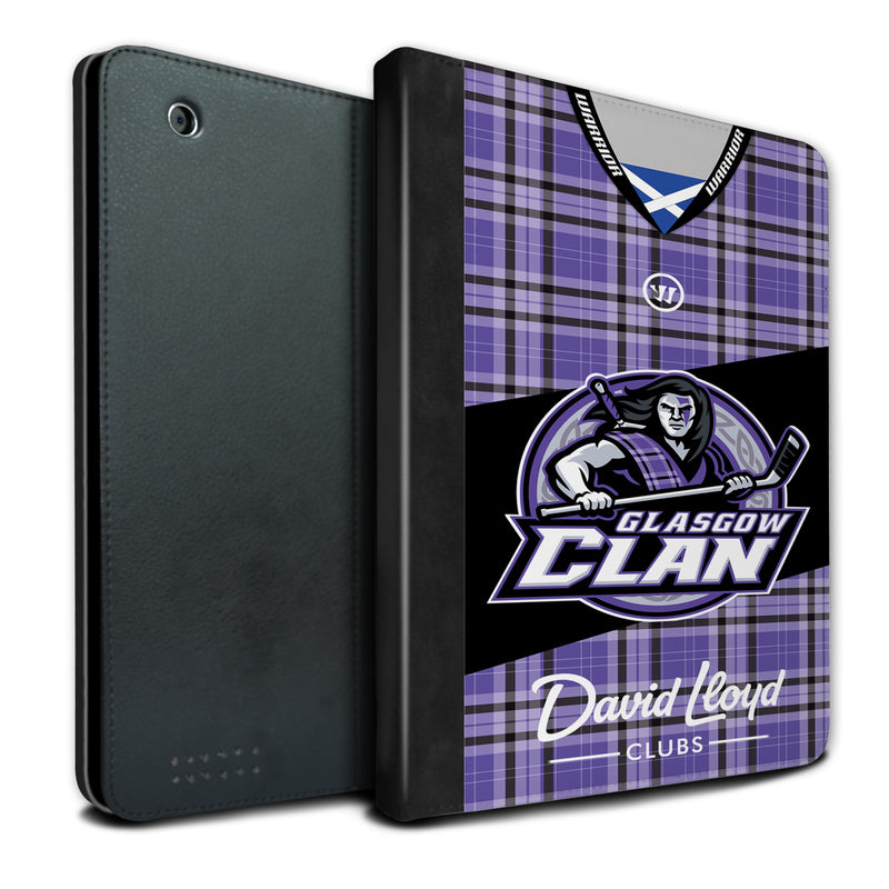 Glasgow Clan 2019/20 Home Jersey iPad Case