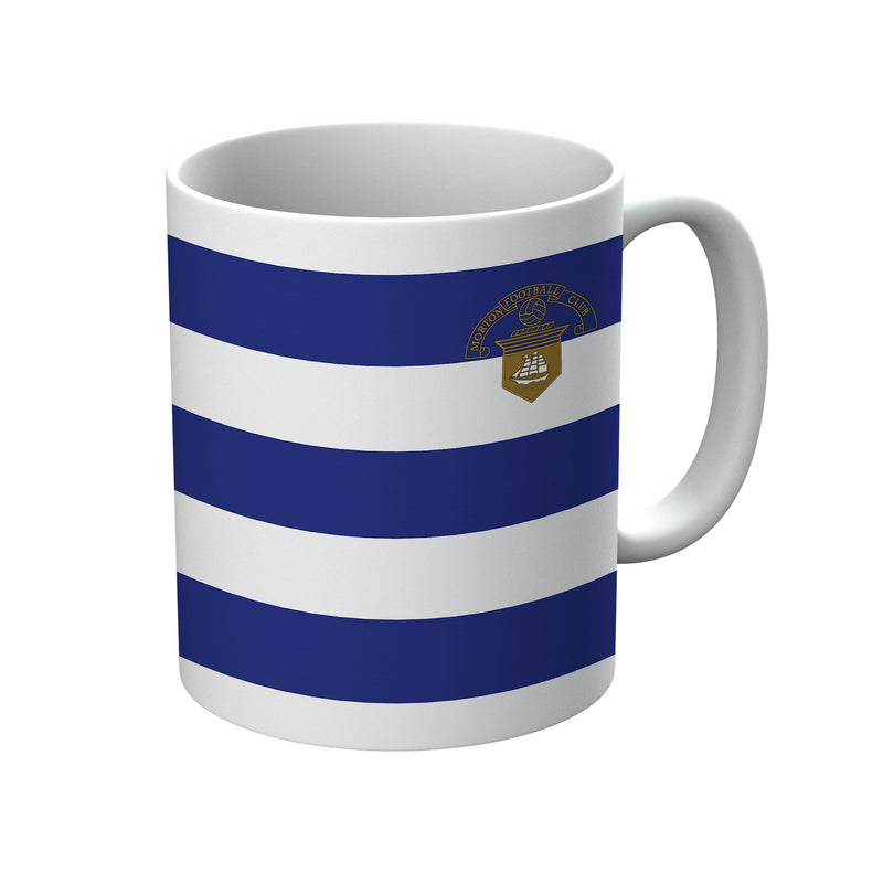 Greenock Morton F.C. 1981-1984 Home Shirt Mug