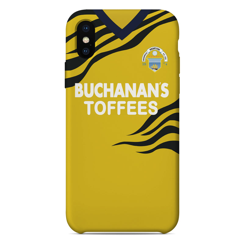 Greenock Morton F.C. 1992/93 Away Shirt Phone Case