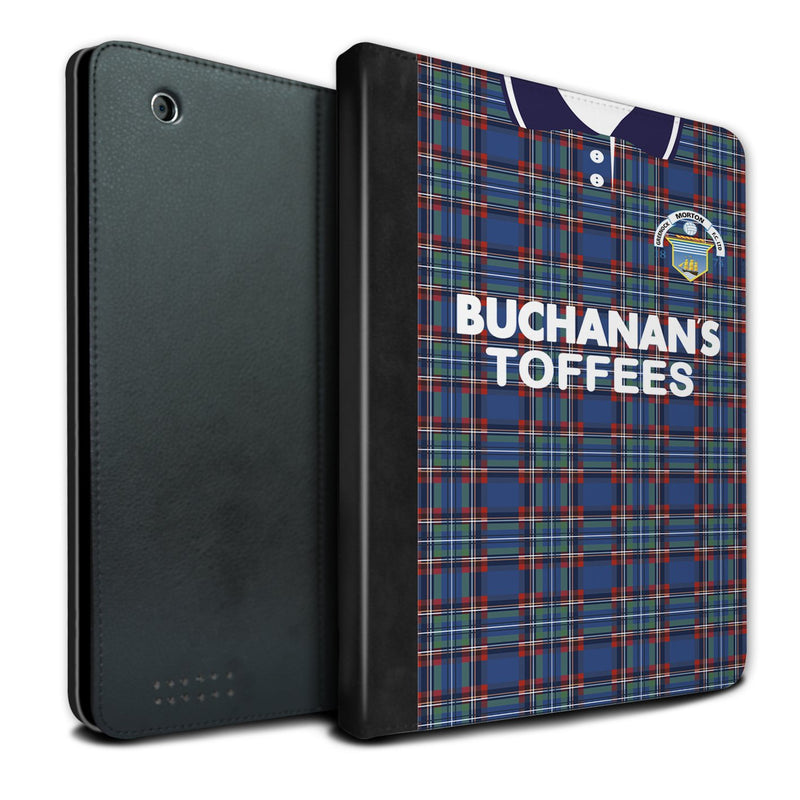 Greenock Morton F.C. 1993-1995 Home Shirt iPad Case