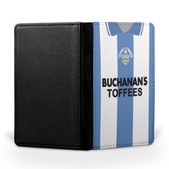 Greenock Morton F.C. 1995-1997 Home Shirt Passport Case