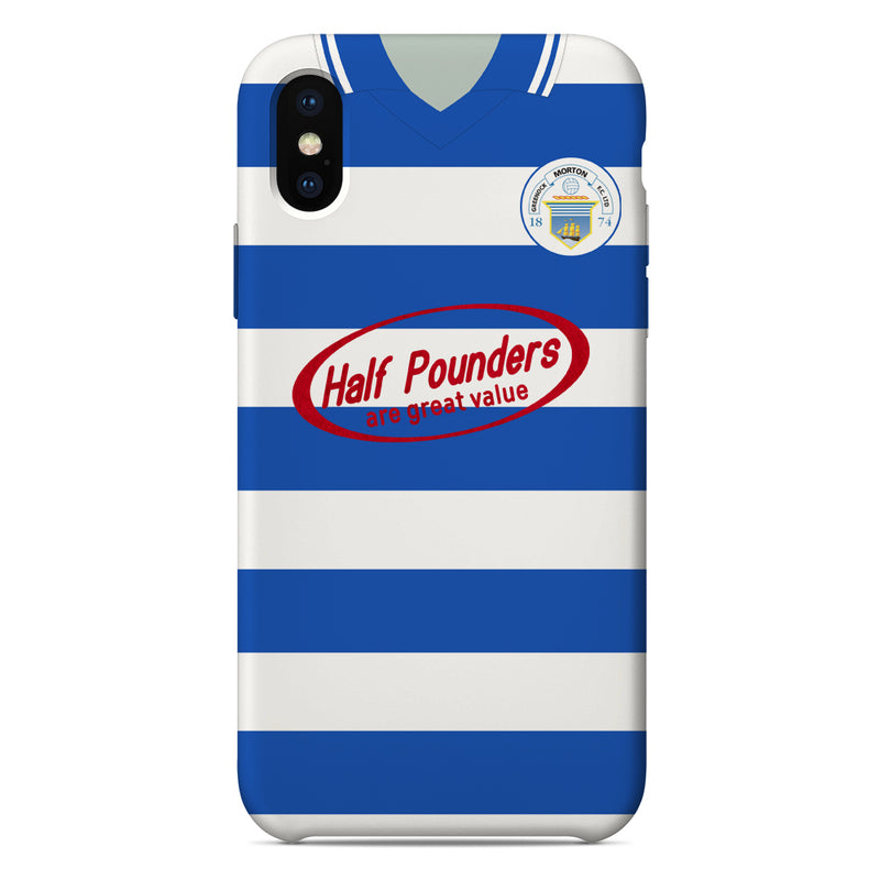 Greenock Morton F.C. 2002/03 Home Shirt Phone Case