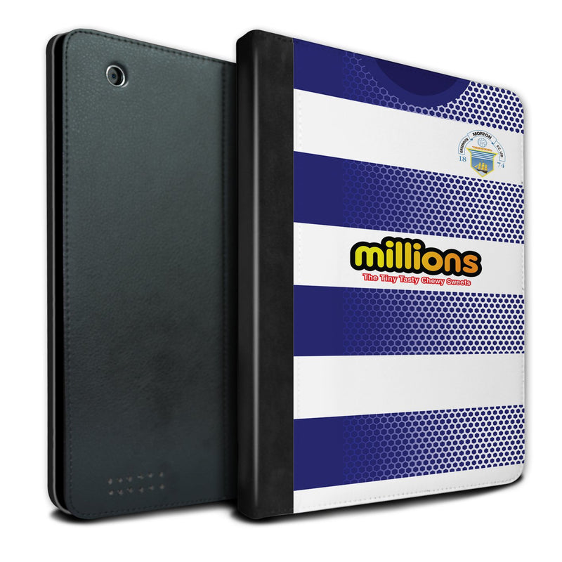 Greenock Morton F.C. 2018-2019 Home Shirt iPad Case