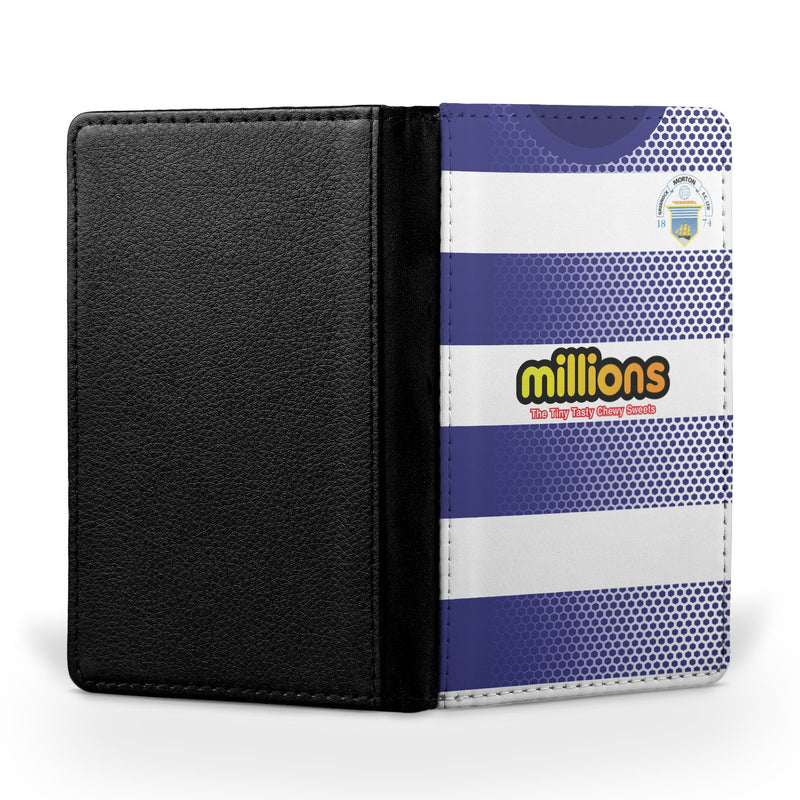 Greenock Morton F.C. 2018/19 Home Shirt Passport Case