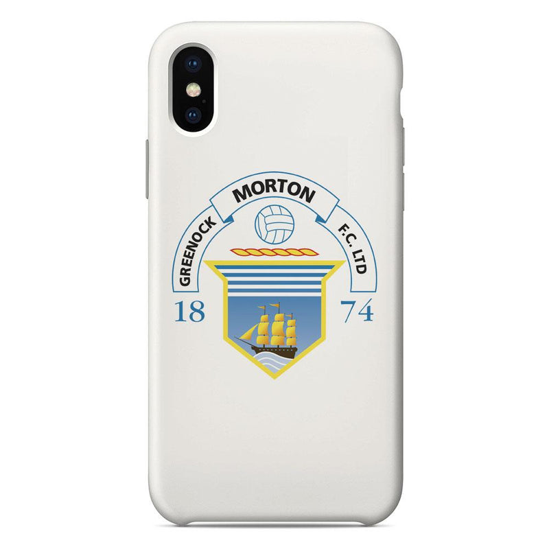 Greenock Morton F.C. Crest White Phone Case