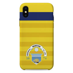 Greenock Morton F.C. Crest 2019 Away Phone Case