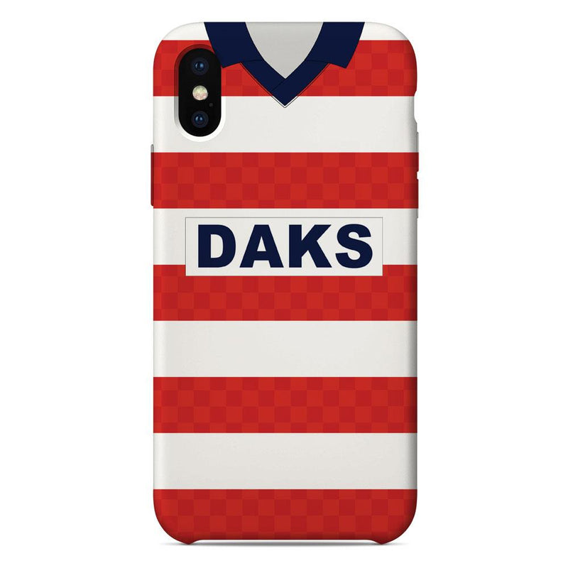 Hamilton Academical 1988/89 Home Shirt Phone Case