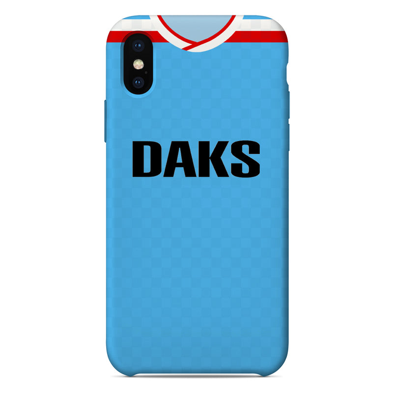 Hamilton Academical 1988/89 Away Shirt Phone Case