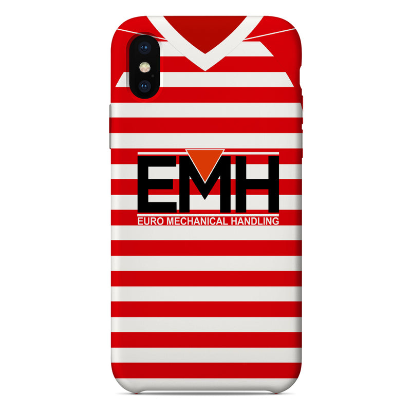 Hamilton Academical 2018/19 Home Shirt Phone Case