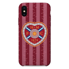 Heart of Midlothian F.C. 2020/21 Home Shirt Phone Case