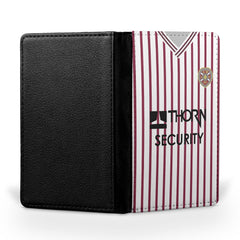 Heart of Midlothian 1989/90 Away Shirt Passport Case