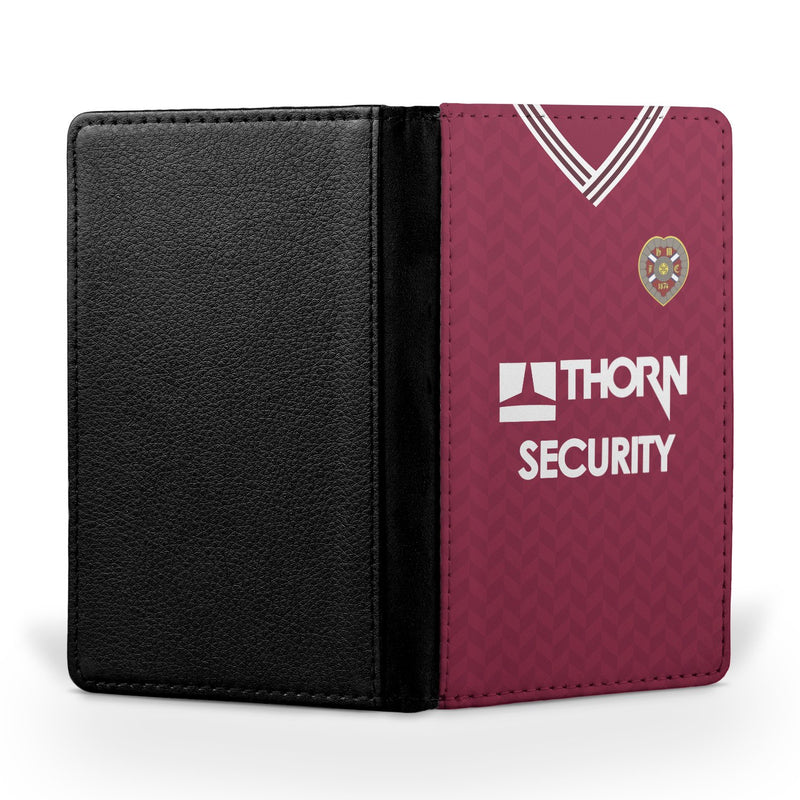 Heart of Midlothian 1985/86 Away Shirt Passport Case