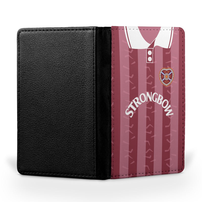 Heart of Midlothian 1995-97 Home Shirt Passport Case