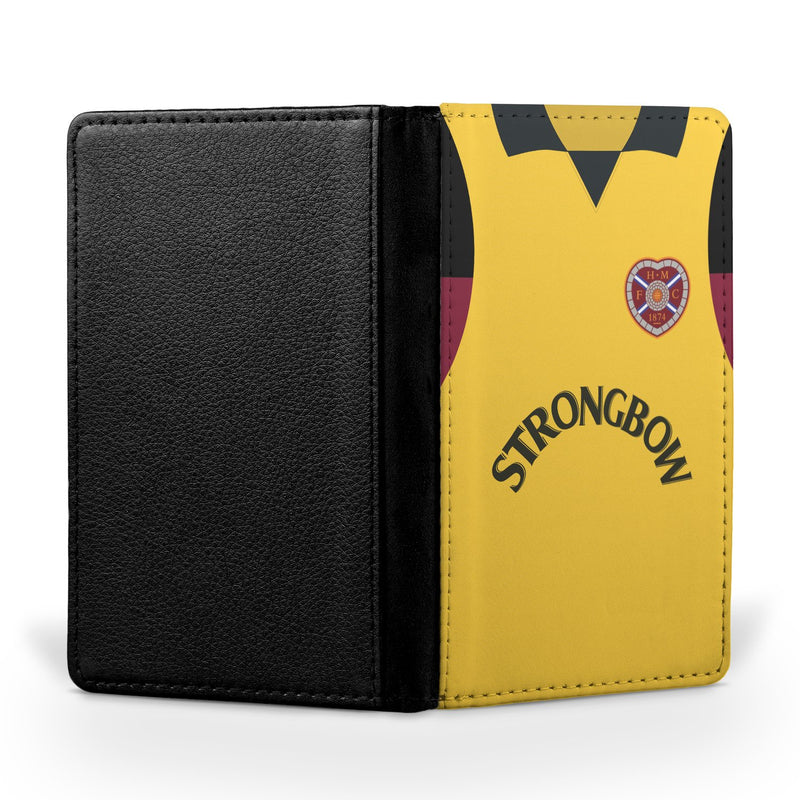 Heart of Midlothian 1996/97 Away Shirt Passport Case