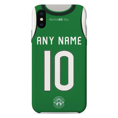 Hibernian F.C. 2020/21 Home Shirt Name & Number Personalised Phone Case