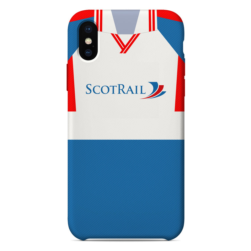 Inverness Caledonian Thistle 1999/2000 Home Shirt Phone Case