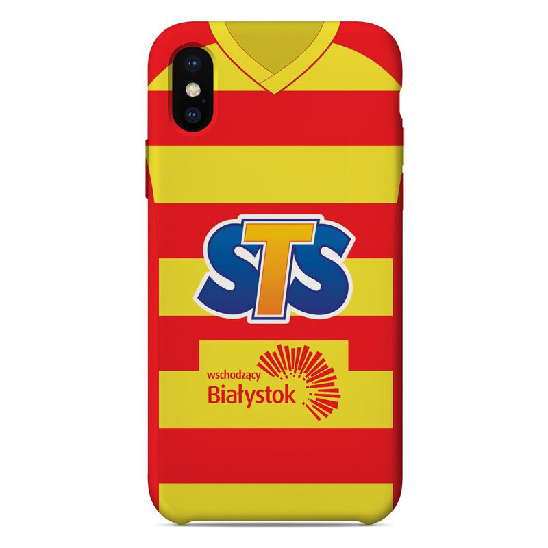 Jagiellonia Bialystok 2018/19 Home Shirt Phone Case