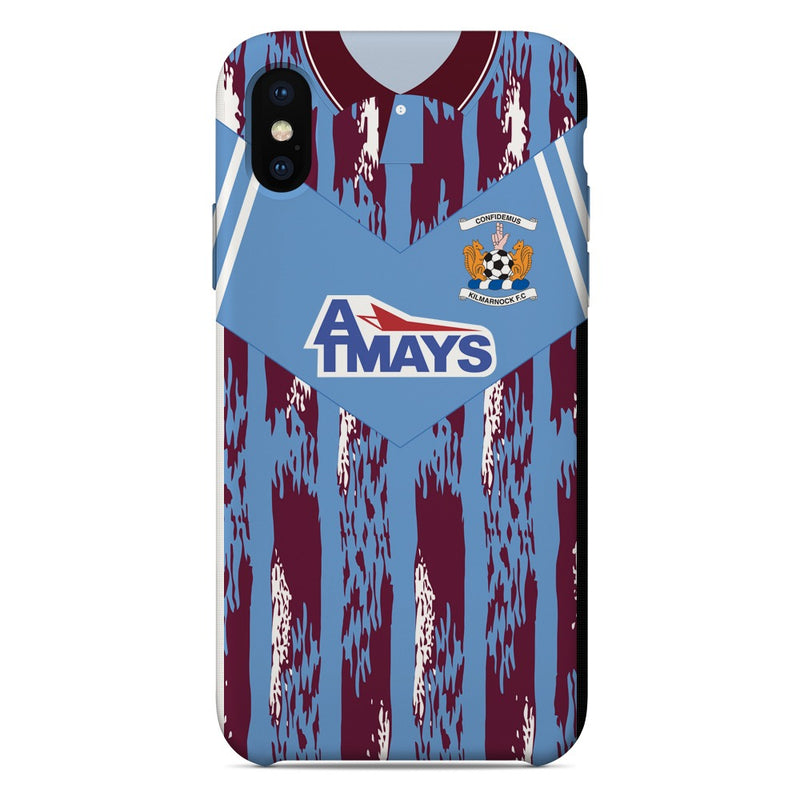 Kilmarnock F.C. 1991-93 Away Shirt Phone Case